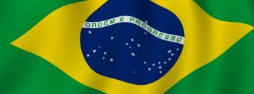 Brazilian Flag Facebook Cover