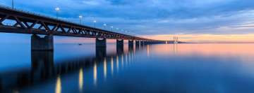 Bridge in Sweden Facebook Cover Photo