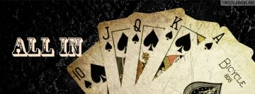 Cards All in Poker Fb Cover
