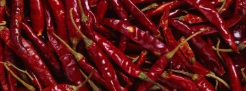 Cayenne Chili Pepper Facebook Background TimeLine Cover