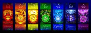 Chakra Cards Facebook Background