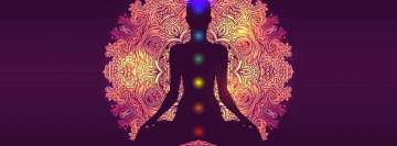 Chakra Healing Background Facebook Wall Image