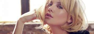 Charlize Theron Facebook cover photo