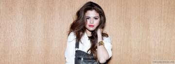 Charming Selena Gomez Fb Cover
