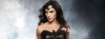 Charming Wonder Woman Facebook Wall Image