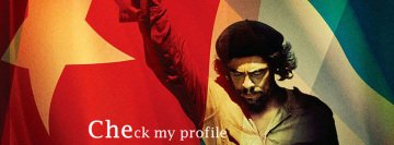 Che Guevara - Check My Profile Facebook Cover