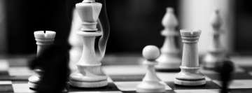 Chess King Under Fire Facebook cover photo