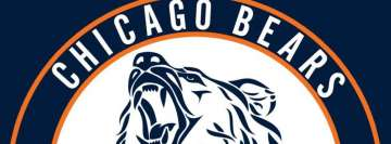 Chicago Bears Logo Facebook Background TimeLine Cover
