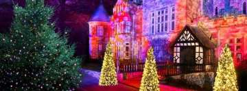 Christmas at Beaulieu Trail Palace House Facebook cover photo