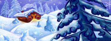 Christmas Dream House Facebook Banner