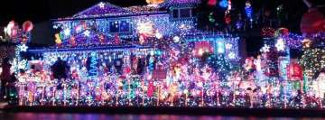 Christmas in Hawaii The Waikele Neighborhood Lights Facebook Banner