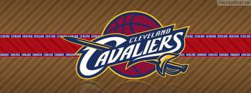 Cleveland Cavaliers Striped Logo Facebook Cover-ups