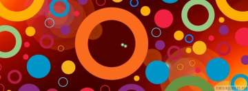 Colorful Circles Facebook Cover-ups