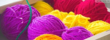 Colorful Crochet Material