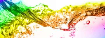 Colorful Liquid Facebook Background TimeLine Cover