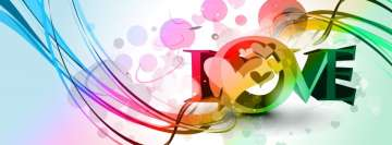 Colorful Love Fb Cover