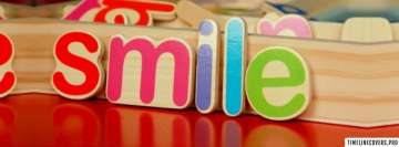 Colorful Smile Facebook cover photo