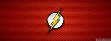 Comics Flash Logo Fb Cover