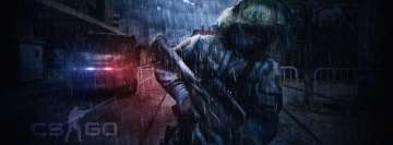 Counter Strike Global Offensive Facebook cover photo