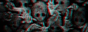 Dark Children Creepy Facebook Banner