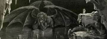 Dark Occult Demon Facebook cover photo