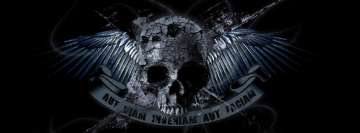 Dark Skull Aut Viam Inveniam Aut Faciam Facebook Background TimeLine Cover