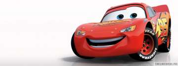 Disney Pixar Cars Facebook cover photo