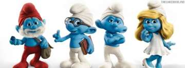 Disney Smurfs Facebook Cover-ups