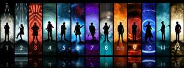 Doctor Who 12 Months Facebook Cover-ups