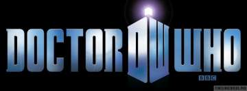 Doctor Who Logo Fb Cover