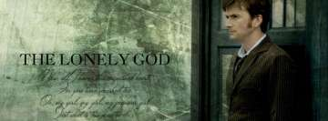 Doctor Who The Lonely God Quote Facebook Banner