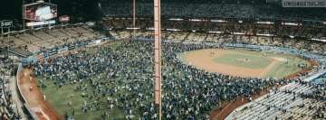 Dodger Stadium Los Angeles Dodgers Facebook Wall Image