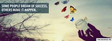 Dream of Success Facebook Background TimeLine Cover
