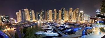 Dubai Marina Facebook Cover