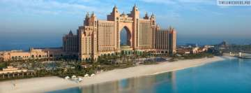 Dubai Atlantis Facebook Cover Photo