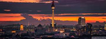 East Berlin Tv Tower Alexanderplatz Cityscape
