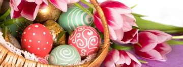 Easter Basket Facebook Banner