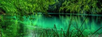 Emerald Green Lake Facebook cover photo
