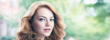 Emma Stone Looking Back Facebook Banner