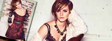 Emma Watson Slightly Erotic Series Facebook Cover Photo