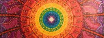 Eye of The Chakra Storm Facebook cover photo