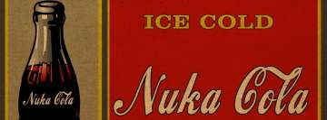 Fallout Ice Cold Nuka Cola Facebook Cover-ups