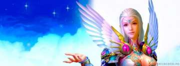 Fantasy Angel Facebook Cover Photo
