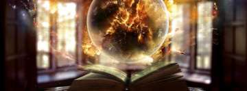 Fantasy Art Power of Knowledge Facebook Cover Photo