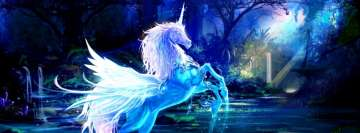 Fantasy Unicorn Facebook Background