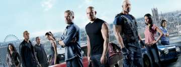 Fast and Furious 6 Facebook Background