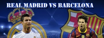 Fc Real Madrid vs FC Barcelona Facebook cover photo