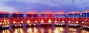 Firefighter Truck Parade Facebook Background TimeLine Cover