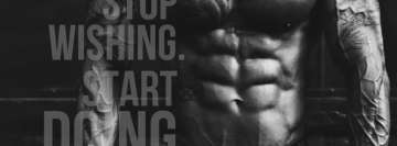 Fitness Motivation Facebook Cover Photo
