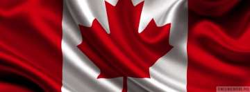 Flag of Canada Facebook cover photo